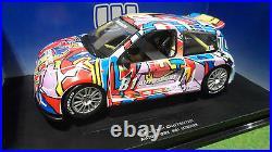 RENAULT SPORT CLIO TROPHY AUTOSPORT RALLYE # 81 au 1/18 d UNIVERSAL HOBBIES 4505