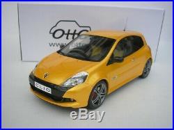 Renault Clio 3 Rs Phase 2 Sport Cup 2010 Jaune Métallique 1/18 Otto Mobile
