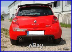 Renault Clio III B Sport Duplex Silencieux Transversal 1x90 Type 17 Droite