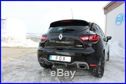 Renault Clio IV Rs Duplex Silencieux Sport Transversal 1x50 Droite/Gauche Pour