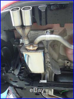 Renault Clio IV Silencieux Sport Sortie Droite / à gauche 2x76 Type 16 Droite