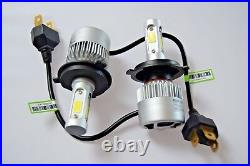 Renault Clio Sport 1998-2006 Phare 2x H4 Kit Voiture Ampoules LED Blanc Pur