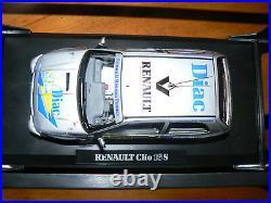 Renault sport clio 16s williams diac rallye grasse alpin ragnotti 1/18 norev