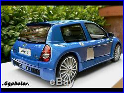 Renault sport clio 2 rs v6 phase 2 1/18 118 otto ottomodels ottomobile boxed