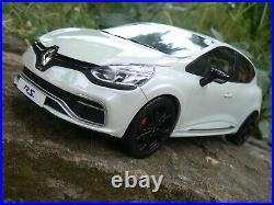 Renault sport clio 4 rs blanche 1/18 118 1 18 otto ottomobile ottomodels boxed
