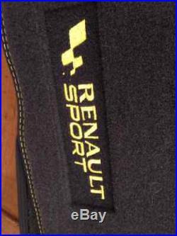 TAPIS DE SOL clio III 3 RS RENAULT SPORT NEUFS ORIGINAL 771142427926