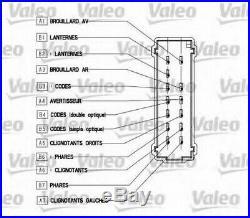 Valeo Clignotant Tige pour Renault Clio II 2.0 16V Sport 2000- À